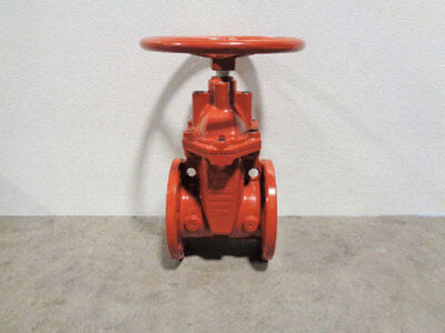Nibco 6 Gate Valve Ductile Iron Fig F-619-rws-hw