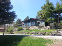 Beautiful house overlooking St Lawrence River
