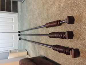 Solid Wood Curtain Rods