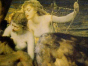 LAMENT FOR ICARUS Herbert Draper PRINT FRAMED nymphs MYTHICAL Cambridge Kitchener Area image 5