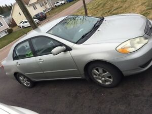2003 corolla for sale