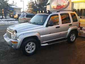 2002 JEEP LIBERTY RENEGADE 4X4 FULLY LOADED SUNROOF 155 KMS MINT