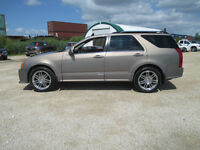 2007 Cadillac SRX Sport Roof Lthr AWD 20's Low Kms