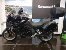 TRIUMPH TIGER 1050 In Black Panniers, Top Case, Lowered, Engine Bars, Rad ...