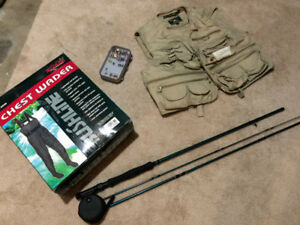 FOR SALE – COMPLETE SET OF FLY FISHING GEAR