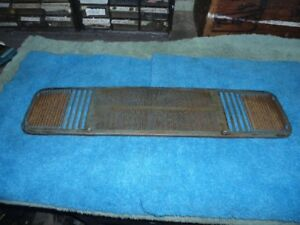1966 66 Mustang speaker grill Dash Top trim louvers straight