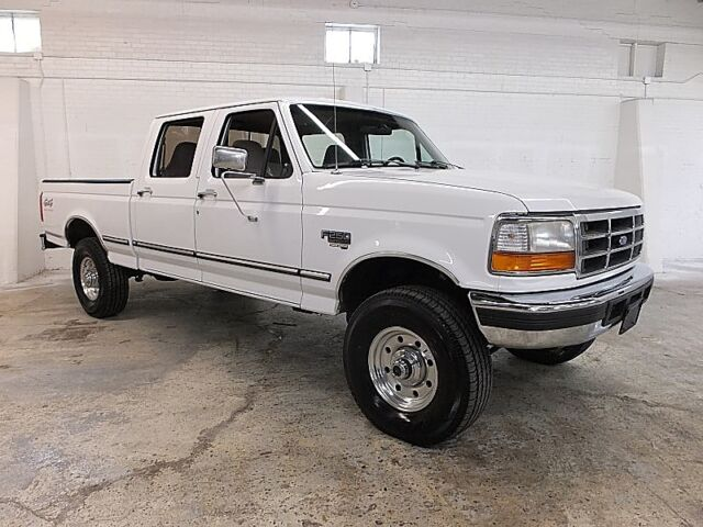 1996 Ford F250 Crew Cab Short Bed 4x4 Xlt 7 3 Diesel 1992