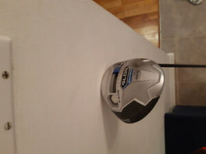 Driver bois 1 taylormade droitier sldr 9.5 loft tige stiff