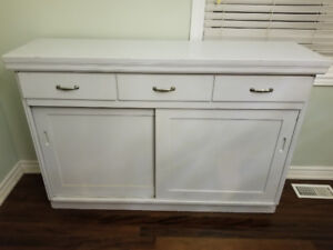 Antique buffet table hutch (Woods of Windsor)