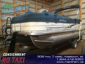 2008 Sun Tracker Party Barge 21