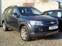 2009 (09) Chevrolet Captiva 2.0 VCDI LTX 7 Seat Automatic 5dr