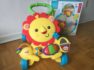 Musical walker for baby