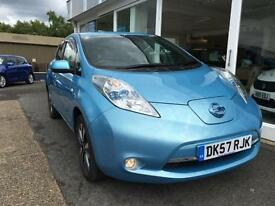 Nissan Leaf E ( 80kw ) ( 24kWh ) Auto 2013MY Tekna BLUE ELECTRIC
