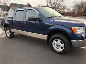 1owner 2009 Ford F-150 XLT 4X4   Crew cab NO RUST