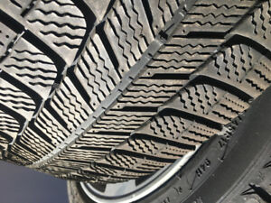 "4 * (Michelin Ice X Tires) + 4 * (17"" Alloy Rims)"