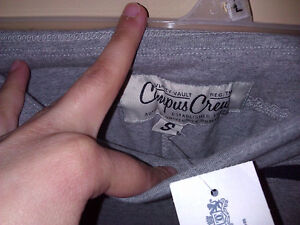 brand new with tags women's Campus Crew grey yoga pants Small London Ontario image 3