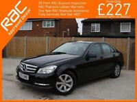 2013 Mercedes-Benz C Class C200 CDI Turbo Diesel Executive SE Blue Efficiency 7G