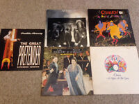 Queen / Freddie Mercury Vinyl Job Lot. 5 Records