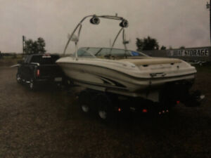 19 foot Sea Ray Open Bow and Tandem Trailer