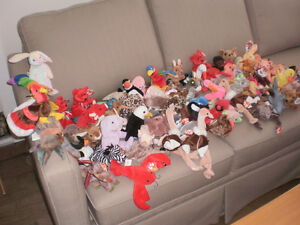 old beanie babies (over 150)