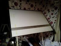 large free standing drawing board