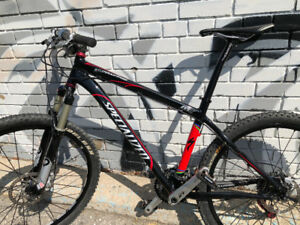 "2009 Specialized  Stumpjumper M5 17"" Frame plenty of upgrades"