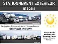 ENTREPOSAGE / REMISAGE/ STATIONNEMENT véhicule récréatif VR