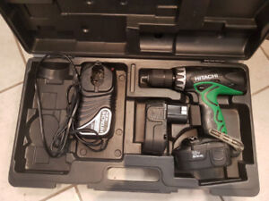 Hitachi 18V Hammer Combo Drill with Case