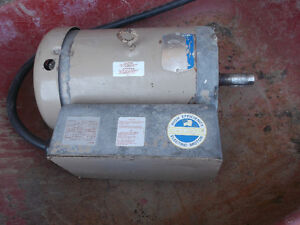 electric motors,71/2 hp 11/2 3/4 single phase,110 or 220 volt