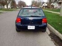 2001 Volkswagen Golf Hatchback