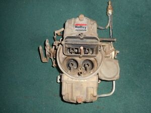 Holley carburetor -- LARGE--  dual feed 780CFM --