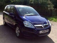 Vauxhall Zafira 2.2 petrol auto 1 owner