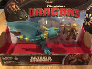 DreamWorks Dragons, Dragon Riders, Astrid & Stormfly Figures