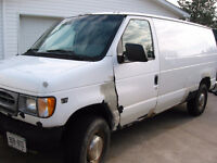 2000 Ford E-350 One Ton Van with 7.3 diesel