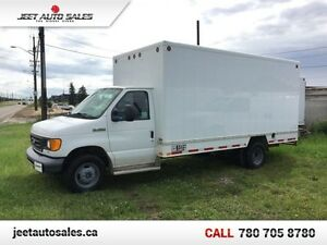 2007 Ford Econoline Commercial Cutaway E-450 CUBE VAN DIESEL LOW