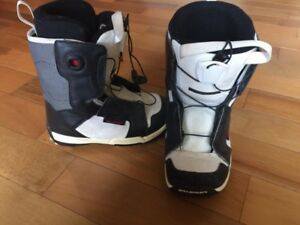 Kids snowboard boots size 215