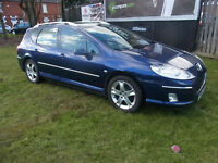 Peugeot 407 SW 2.0HDi 136 SE PX Swap Anything considered 12 months mot
