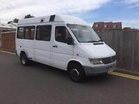 Mercedes-Benz 412D AUTO 1997 P REG ONLY 74K AUTOMATIC 3500KG IDEAL CAMPERVAN CON