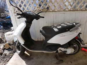2009 Piaggio Fly Motor Scooter USED