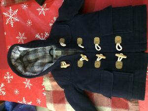 Janie and jack boys pea coat 12-24 months