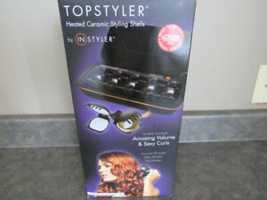 Topstyler heater, creates amazing curls, waves and volume
