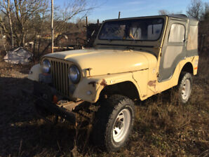 Original Paint 1977 jeep cj5 from South Africa