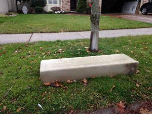Concrete step