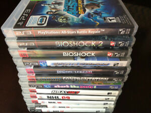 ABOUT 12 PS3 VIDEO GAMES