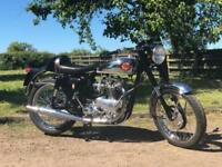 TRIBSA 1956 Pre-Unit T100 500cc BSA/Triumph, Superb Fully Restored Cafe Racer!