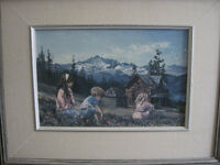 """Keirsted textured print """"The Meadow"""""""