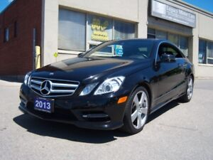 2013 Mercedes-Benz E-Class E350 Coupe Navi/Panno Roof/Rear Cam