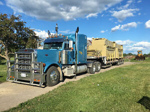 2006 Peterbilt 379 2016 lode king step deck trailer
