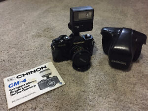 Chinon CM-4 35mm Film Camera - Vintage