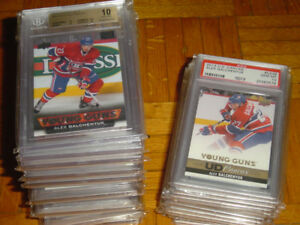 LOT 29 HOCKEY CARD UPPER DECK YOUNG GUNS alex galchenyuk